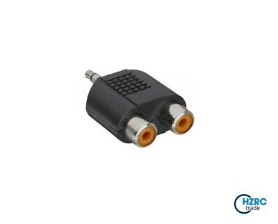 NEU Valueline Stereo Klinke Audio Adapterkabel 3,5 mm Stecker auf Chinch