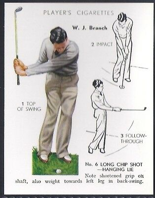 Players Overseas Issue-Golf (L25)-#05- Long Chip Shot - Branch