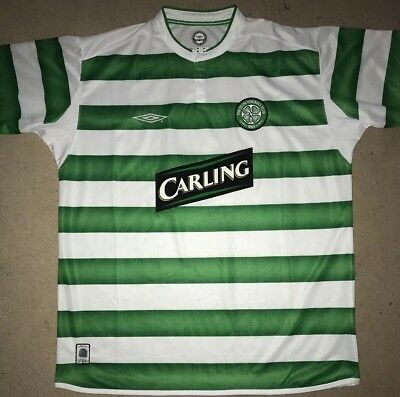 Celtic Football Shirt from 2003 UEFA Cup Final