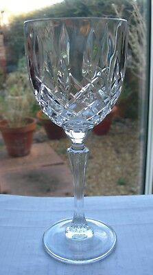 """Nice Quality Single Waterford Crystal Marquis Markham Cut Wine Glass 8-1/4"""""""