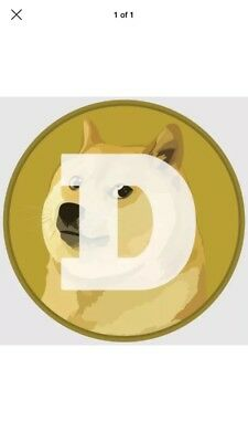 100 Dogecoin DOGE coins virtual crypto currency - Trusted Seller  USA