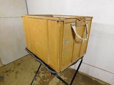 Vintage Bell System Springfield Gardens New York Telephone Work Tool Box Crate