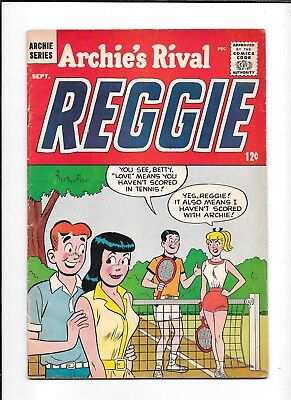 Archie's Rival Reggie #15 ==> Fn- Continued From Original Series 1964