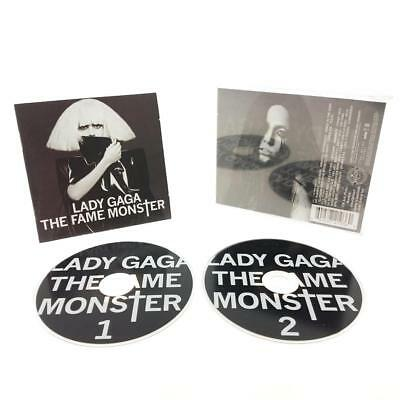 Lady Gaga - The Fame Monster (2 Disc CD, 2009) Pop Streamline Records Jewel Case