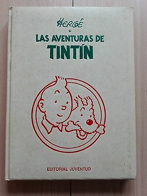Tintin – ''Las Aventuras De Tintin'' –  Vol. 2 - Spanish Book + Free Bag