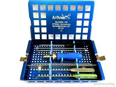 Arthrex Arthroscopy Bio-FASTak Instrument Set AR 1327 Arthroscopic Complete