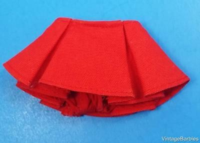 Ideal Pepper Doll Red Skirt Mint Condition ~ Vintage 1960's *