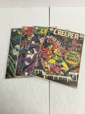 The Creeper 1 2 3 5 Fn-Vf Fine-Very Fine 6.0-8.0 DC Comics Silver Age