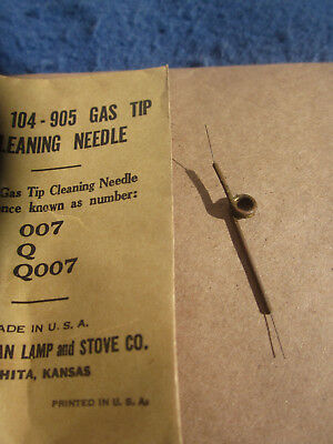Coleman Lamp Co. Gas Tip Cleaning Needle Part #104-905(007-Q007) For Appliances