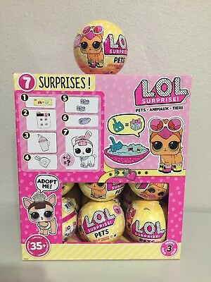 LOL Surprise Pets (Series 3) FULL CASE w/box (18 balls) FREE SHIPPING
