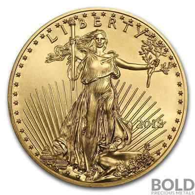 2018 Gold American Eagle - 1/4 oz