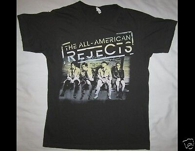 THE ALL-AMERICAN REJECTS Tour 2012 Size Small Gray T-Shirt
