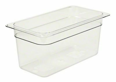 "Cambro (36CW135) 6"" Third-Size Food Pan - Camwear 6-Inch New"