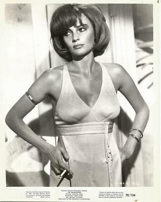 Super Sexy Busty Jacqueline Bisset At Age 25 Original Grasshopper Portrait