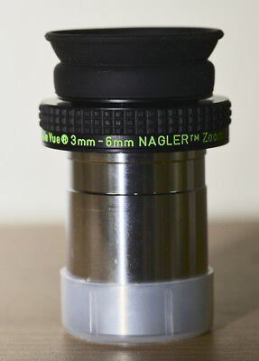 TeleVue Nagler 3-6 Zoom Slightly Used