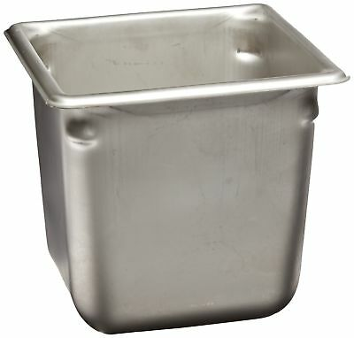 """Vollrath (30662) 6"""" Deep Super Pan V Stainless Steel Sixth-Size Steam Tab... New"""