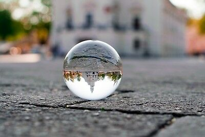 60mm Clear Glass Crystal Ball Sphere Photography Photo Props Camera Effects