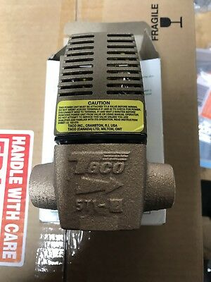 "Brand New Taco 571-2 Sweat Zone Valve 3/4"" Sweat"