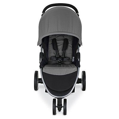 BRITAX  2017 B-Agile 3/B-Safe 35 Steel Travel System Single Seat Stroller