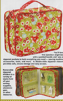 PATTERN - A Place for Everything - handy bag PATTERN - Patterns by Annie