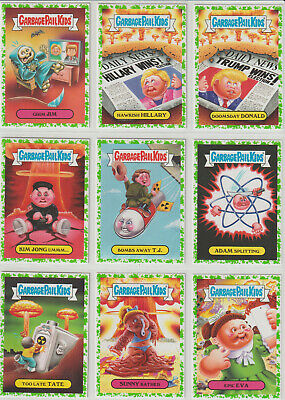 Garbage Pail Kids 2017 Battle of the Bands Complete 180 Card Set Plus Wrapper