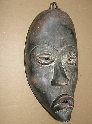 Very Old African Tribal Dan Mask Africa Masque Liberia CÔTE D'IVOIRE Antique Art