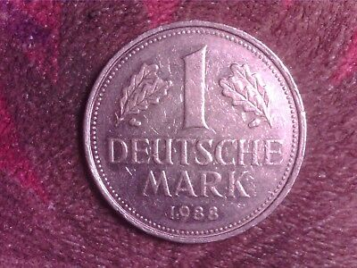Germany   1  Mark   1988   F