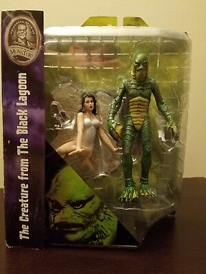 CREATURE FROM BLACK LAGOON Diamond Select Toys Universal Monsters Deluxe Figure!