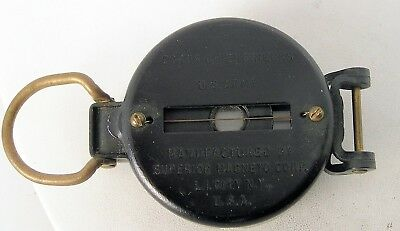 Vintage WWII WW2 US Army Corps of Engineers Superior Magneto Corp. Field Compass