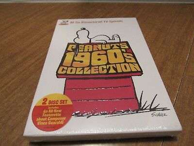Peanuts Dvd 1960'S Collection Remastered Including A Charlie Brown Christmas