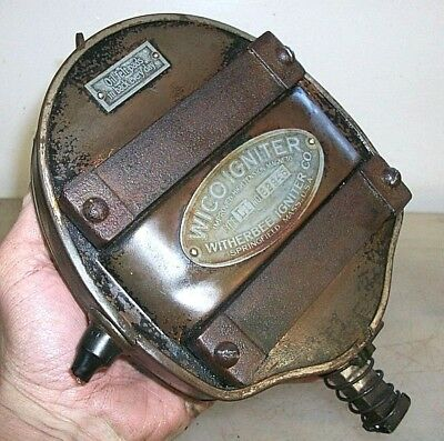 """WICO L1 """"Pancake"""" or """"Sardine Can"""" HIGH TENSION MAGNETO HOT!! Old Engine #62845"""