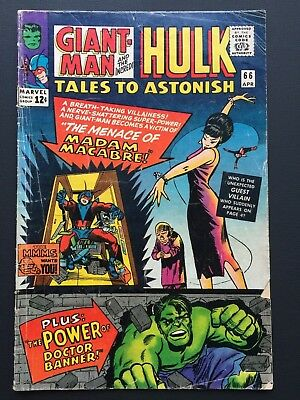 "Tales to Astonish # 66 April 1965 VG ""MADAM MACABRE & DOC BANNER!"""