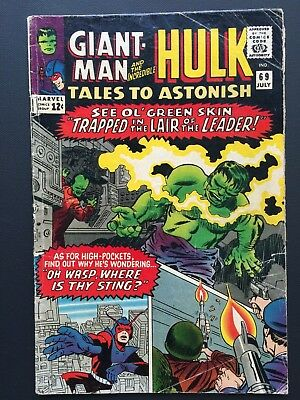 "Tales to Astonish # 69 July 1965 VG ""LAIR OF LEADER & WASP STING!"""