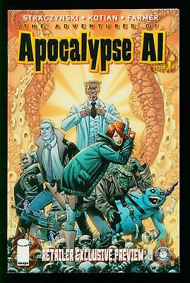 Apocalypse Al #1 Retailer Exclusive Preview- Rare Image Comic Vf