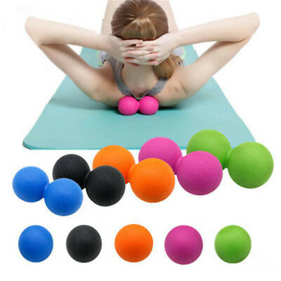 Single/Double Therapy Massage Massage Foot Massage Roller Ball Lacrosse Ball