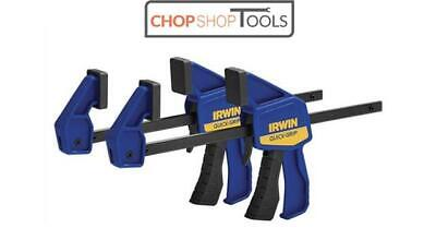 IRWIN Quick-Grip Micro Clamps TWIN PACK 100mm (4in) Non Marking T530062EL7