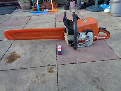 "Stihl Ms 039 Ms390 Professional Chainsaw Serviced 20"" Bar & Chain"