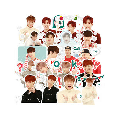 KPOP Got7 Cartoon JB YoungJae Mark Decal Stickers DIY Album Scrapbook 20pcs/Set