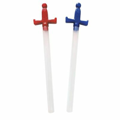 x100 Novelty Fillable Sweet Containers x50 Red Swords and x50 Blue Swords Tubes
