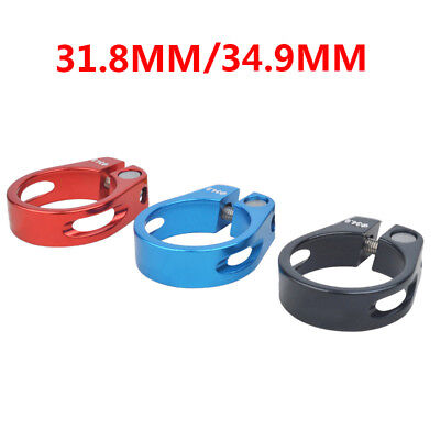 31.8mm 34.9mm Aluminum Alloy MTB Bike Bicycle Cycling Saddle Seat Post Clamp BDY
