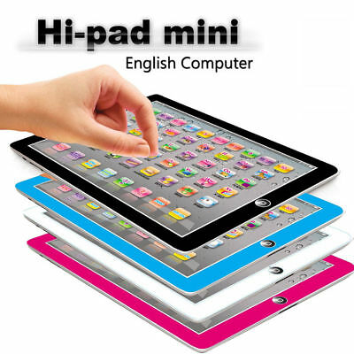 Kids Learning Pad Touch Screen Tablet Music Spelling Study Educational Toy Gift