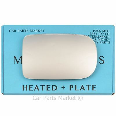 plate Right side for Renault Kangoo 98-02 Wide Angle heated wing mirror glass