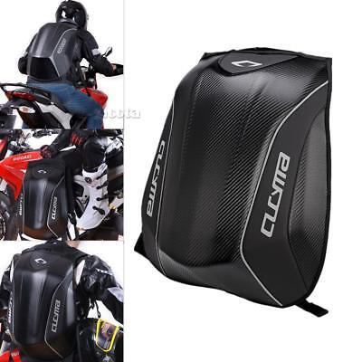 30L Motorcycle Backpack Motorsports Hard Shell Air Flow Track Riding Back Pack