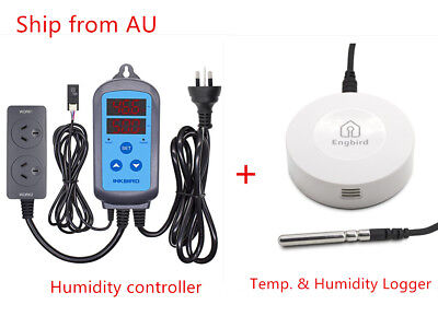 Inkbird Humidity controller IHC-200 + Data Loggers Measurement Tool Recorder AU