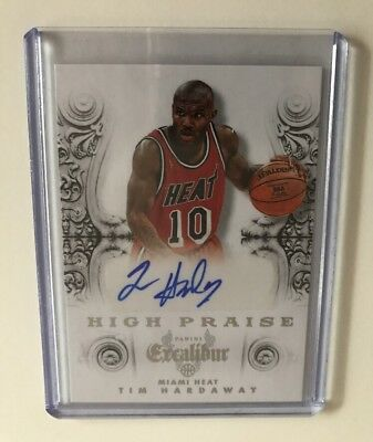Tim Hardaway - Excalibur - High Praise Signatures - 2014/15