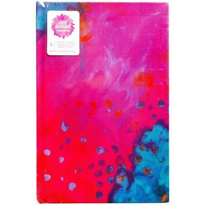 Jane Davenport Canvas Journal - 6 x 9 Bright Abstract - 96 Watercolour pages