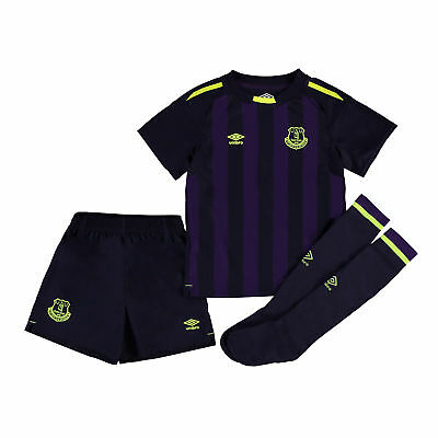 Official Everton 3rd Infant Kit 2017/18 & Baby Umbro