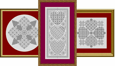 Blackwork Embroidery Kits - Choose from a range of designs