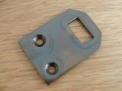 Antique Finish Door Keep For Vacant Engaged Toilet Bathroom Lock Bolt Indicator