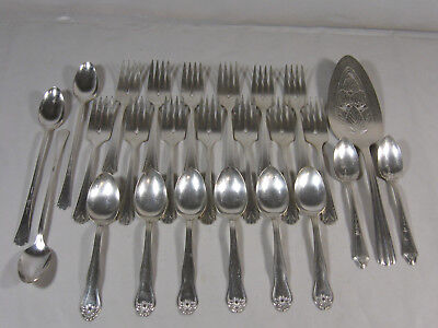 Silver Plate Mixed lot of 25 Pcs Vintage